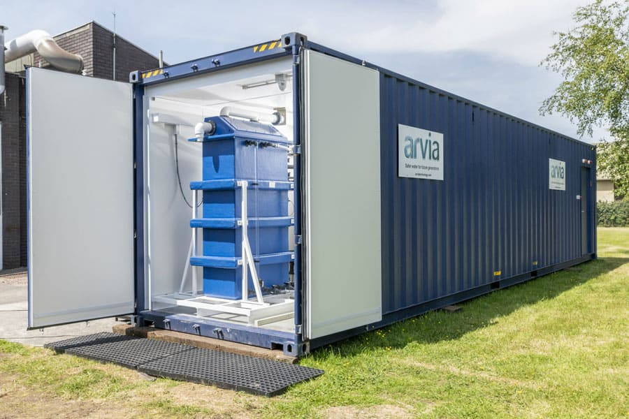 Arvia-systeem voor effectieve afvalwaterbehandeling