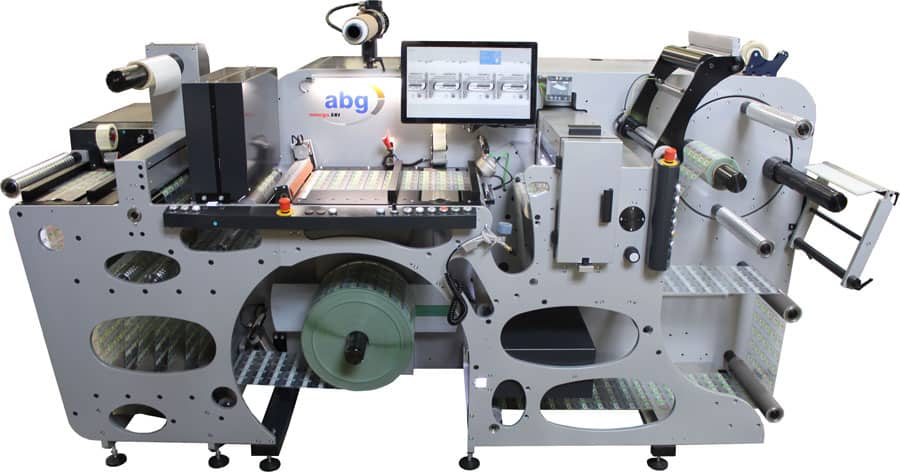 Omega SRI标签整理系统与集成标签检测子系统(Courtesy AB Graphic International GmbH)