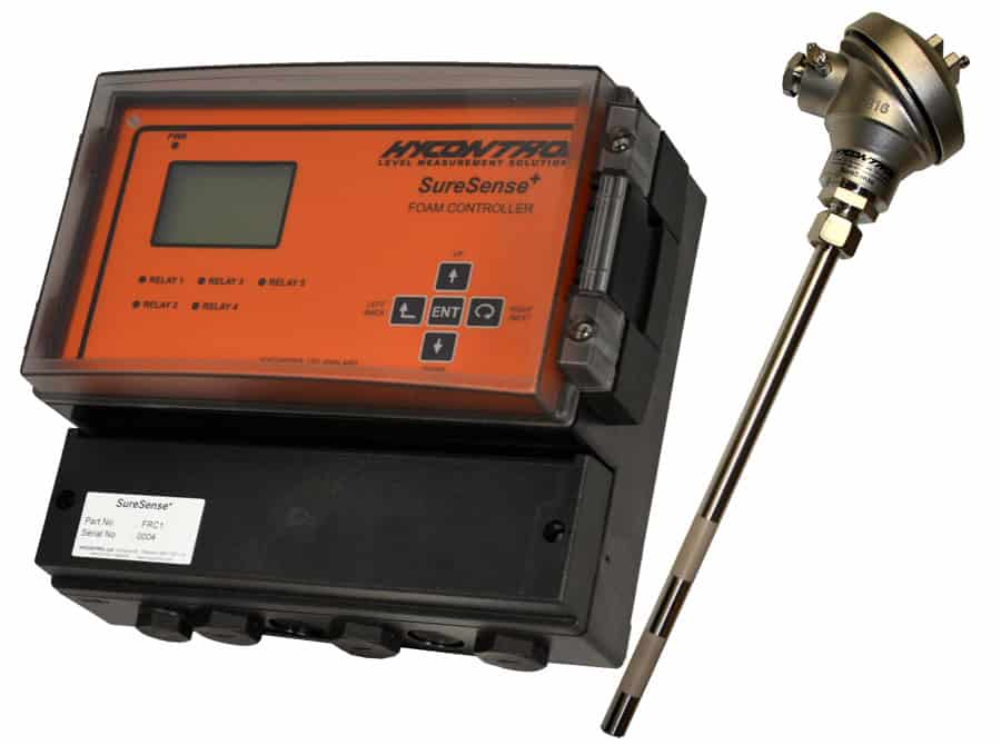 SureSenseplus controller with probe