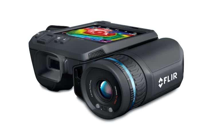 câmera portátil de detecção de metano