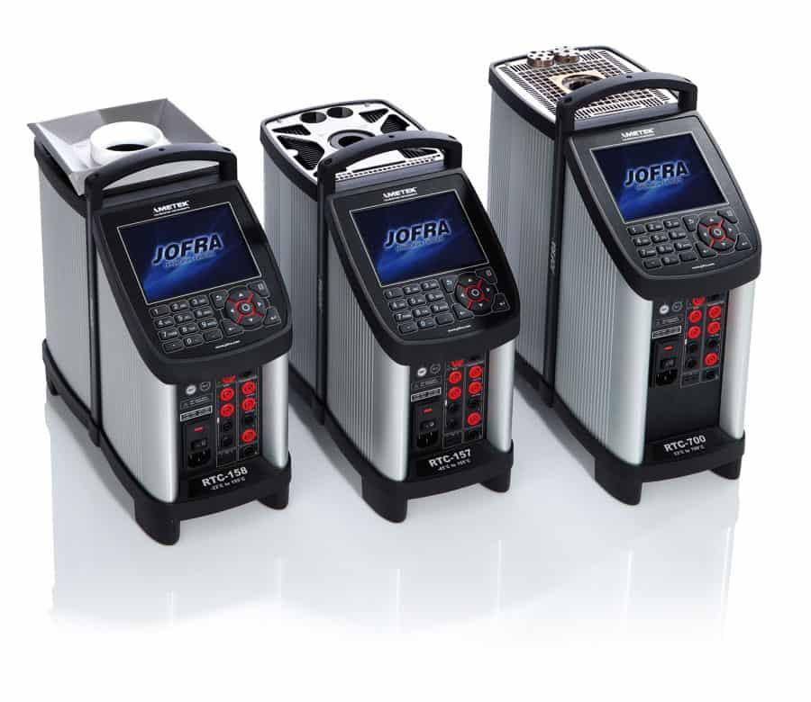 Calibrage de la température - Maskiner