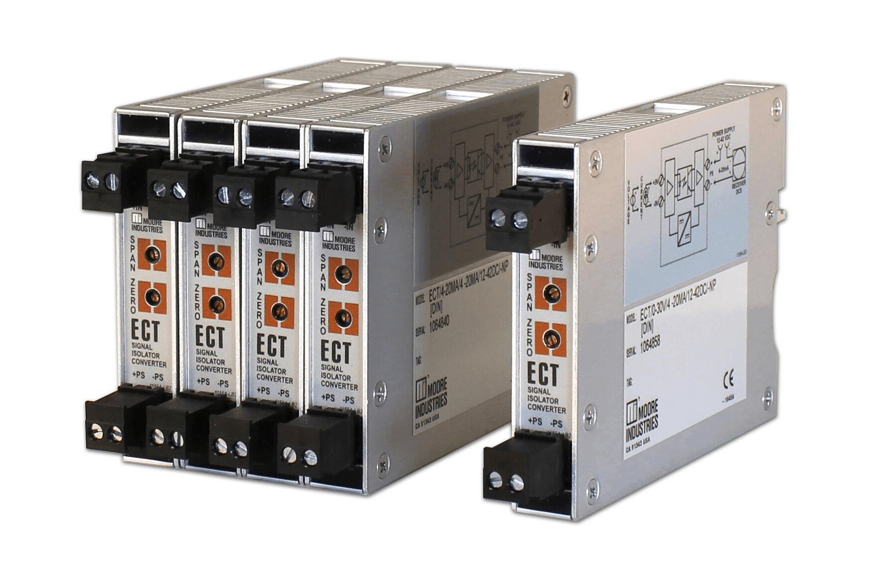 坚固耐用的ECT DIN信号隔离器
