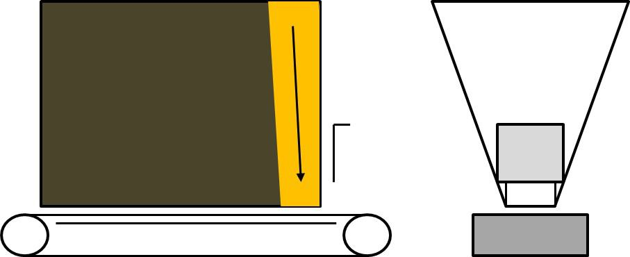 Fig 5 a.) Incorrect belt interfacing