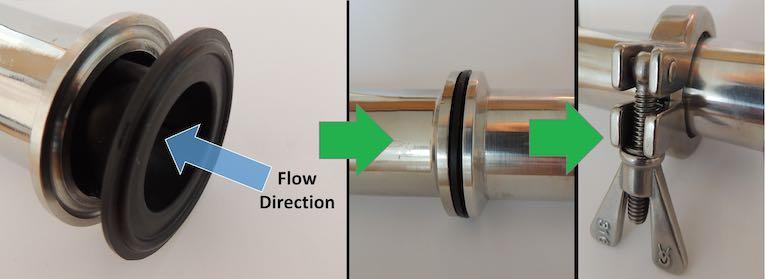 easy install non return valves