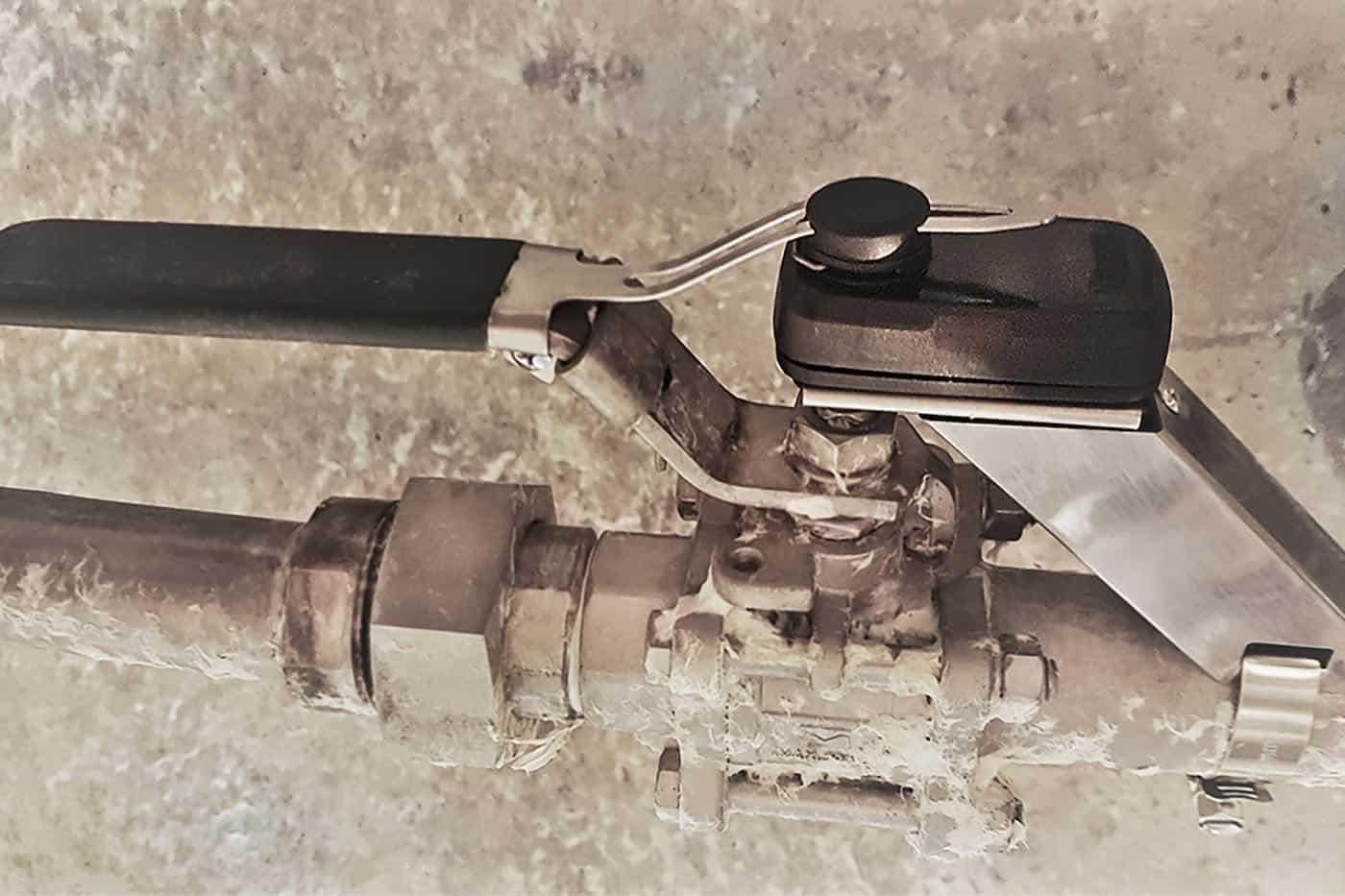 haltian angle sensor mounted