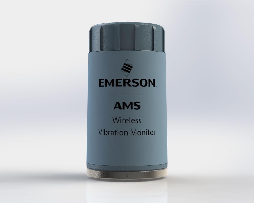 emerson vibration sensor simplifies asset monitoring