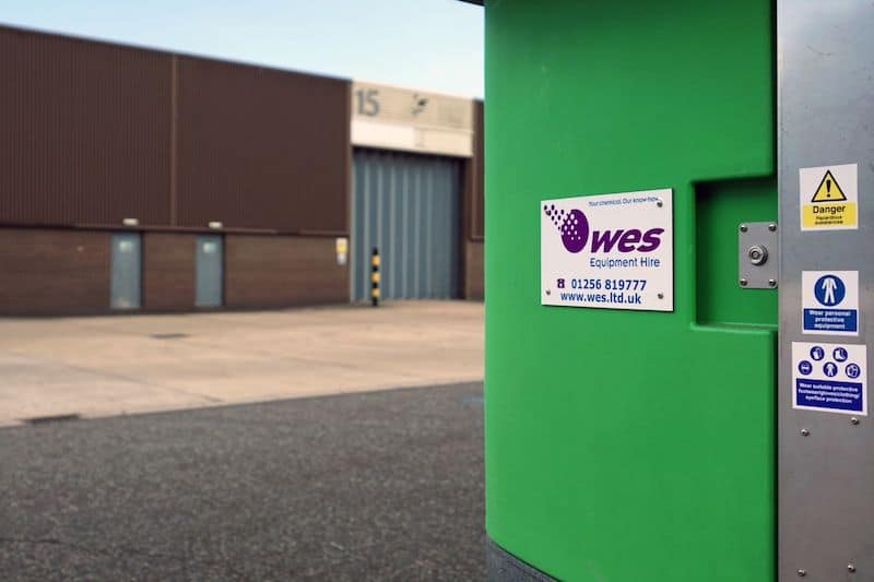 Chemical dosing system supplier WES Ltd